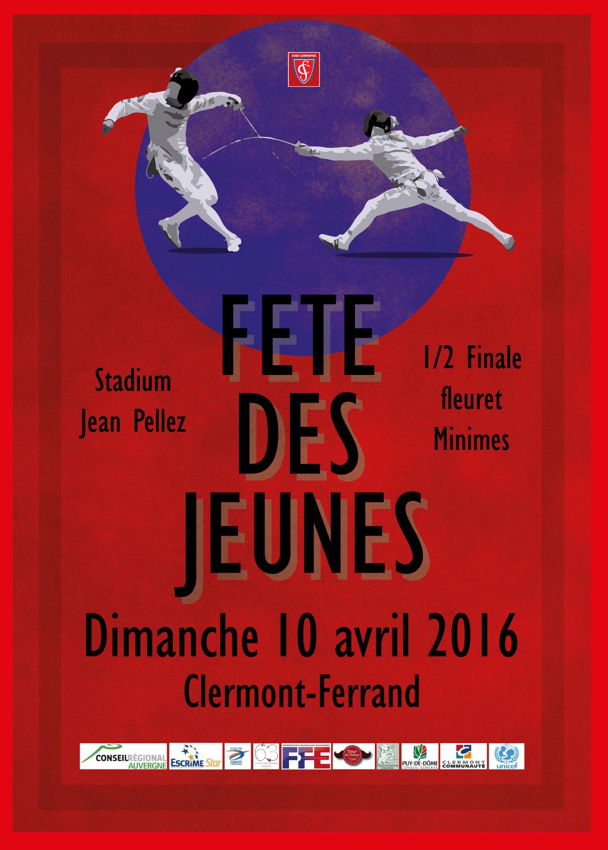 Affiche FdJ 2016